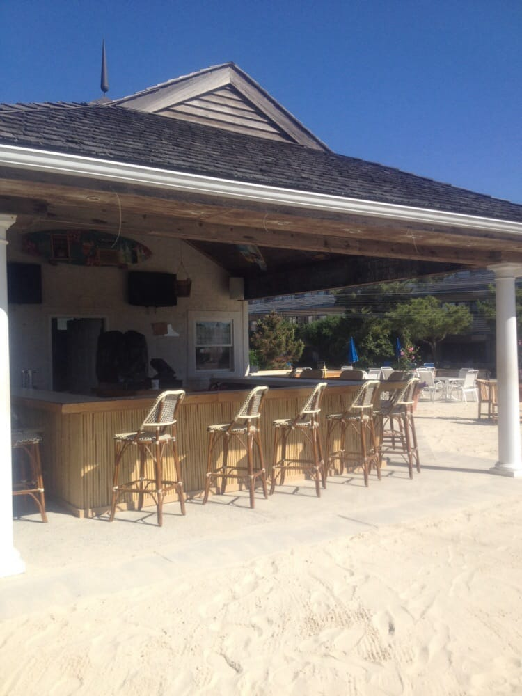 coolest beach bar on the beach even has tv yelp. Black Bedroom Furniture Sets. Home Design Ideas