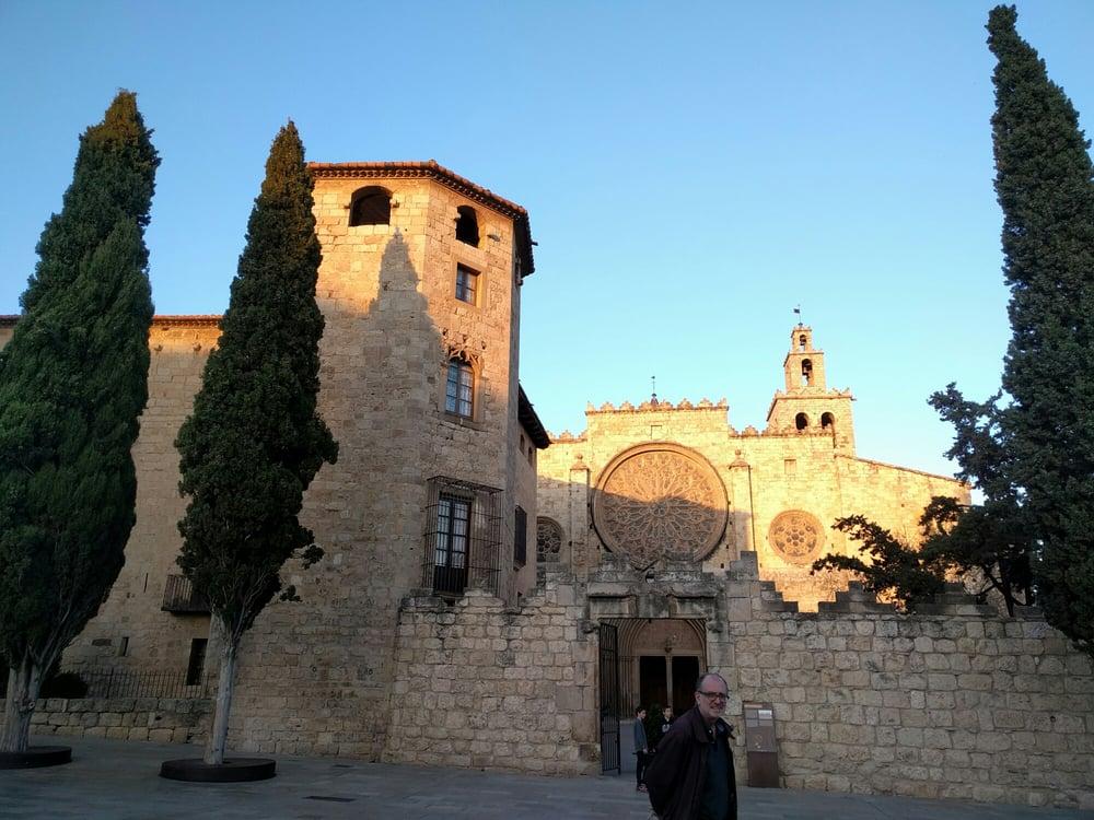 Monastery and museum of sant cugat monestir i museu de - Placa barcelona sant cugat ...