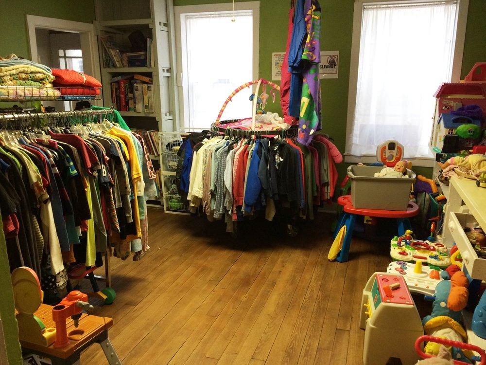 Social Service League Store: 905 Rhode Island St, Lawrence, KS