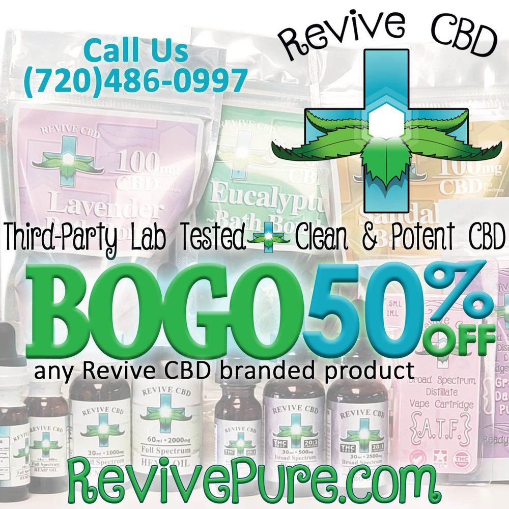 Revive CBD: 5055 S Kipling Pkwy, Littleton, CO