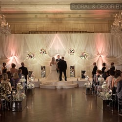 Photo Of Standard Club Chicago Il United States An Ivory Wedding Backdrop
