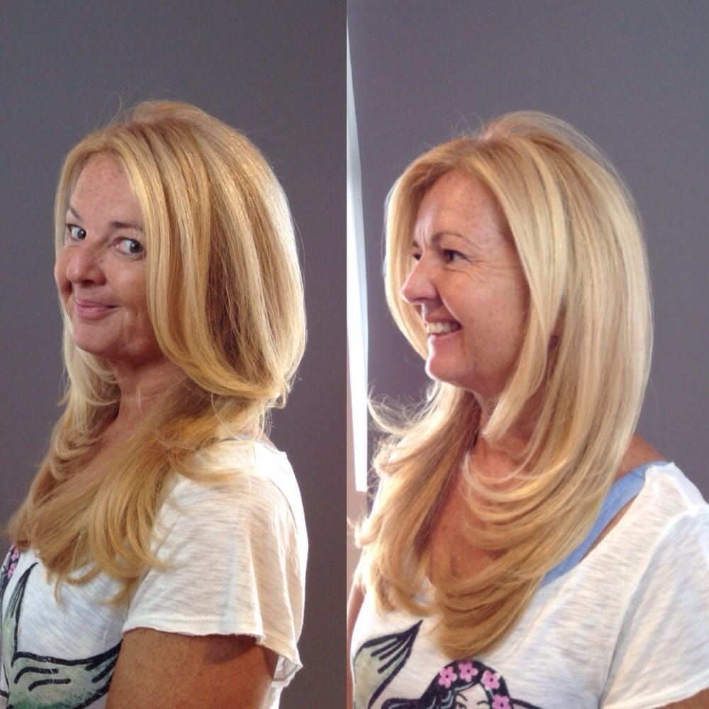 Paul mitchell the color with some balayage by creative for Acquafredda salon