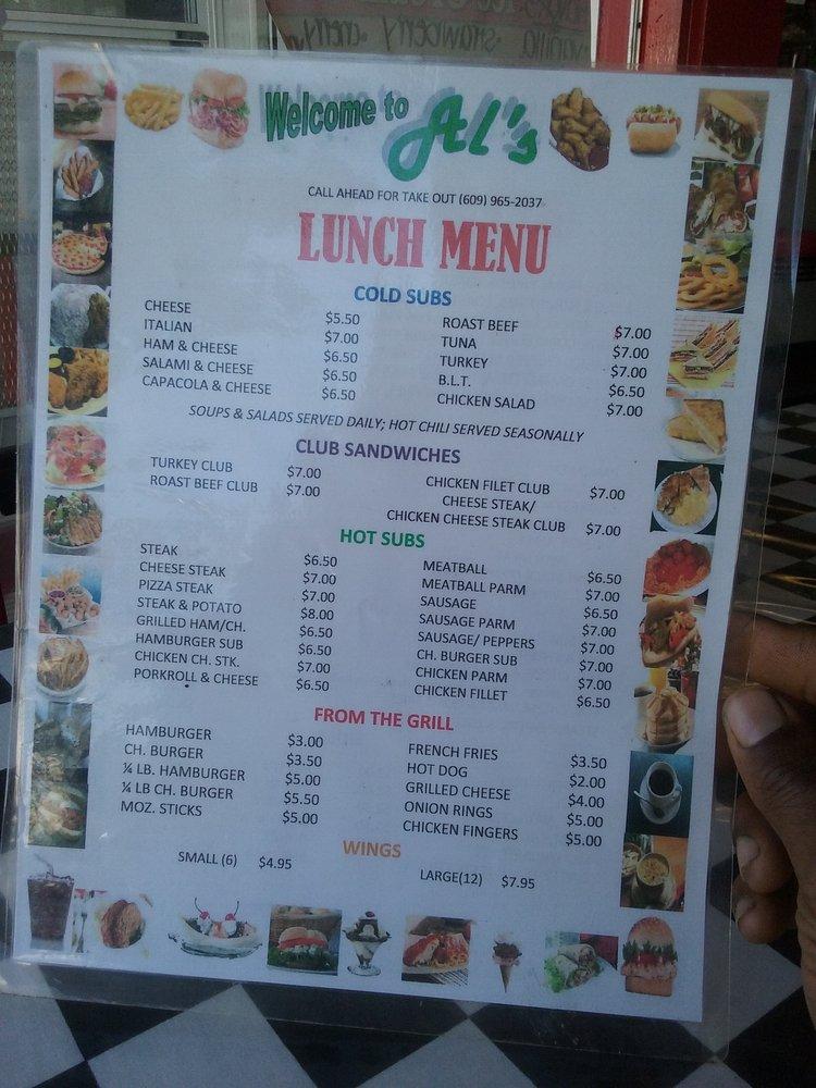 Al's Luncheonette: 452 Philadelphia Ave, Egg Harbor City, NJ