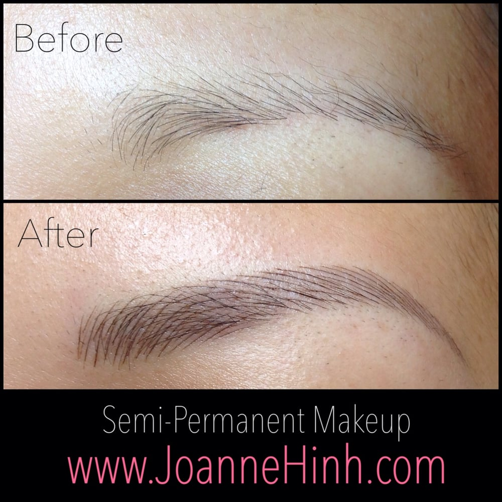 Eyebrow Embroidery 3d Brow Tattoo Feathering By Joanne Hinh Yelp
