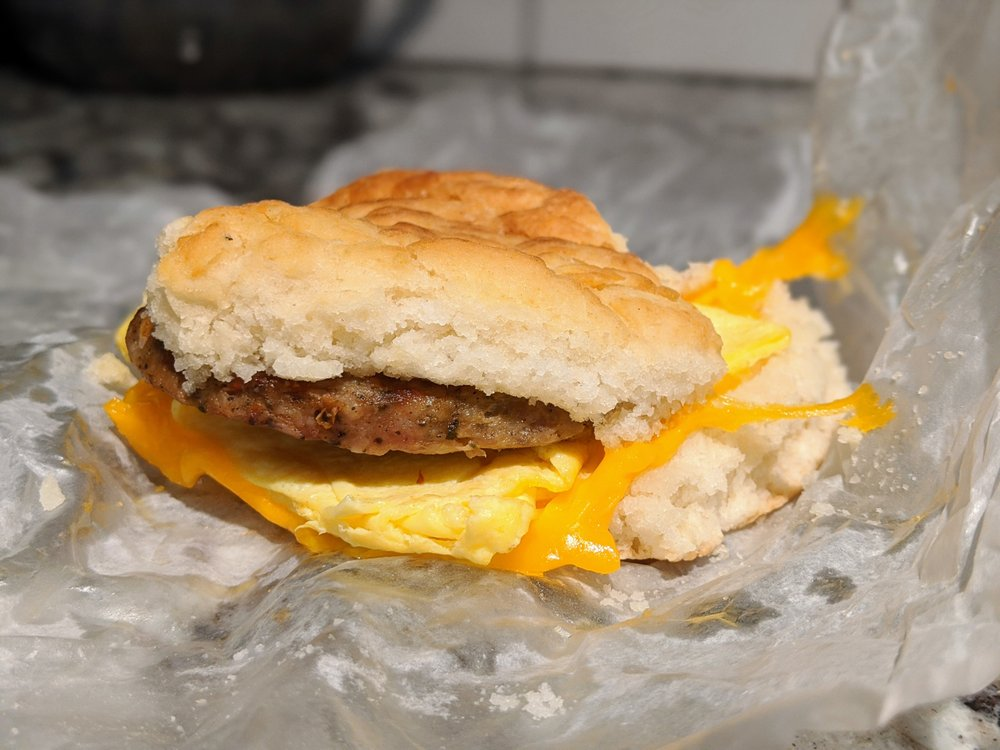 Food from Sunrise Biscuit Kitchen