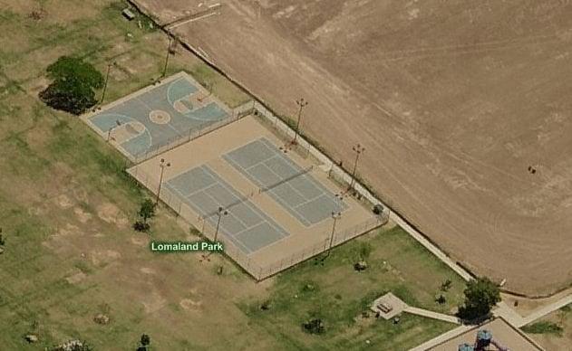 Lomaland Park Tennis Court