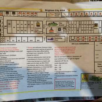 Brigham City KOA Photos Reviews Campgrounds W - Koa us map