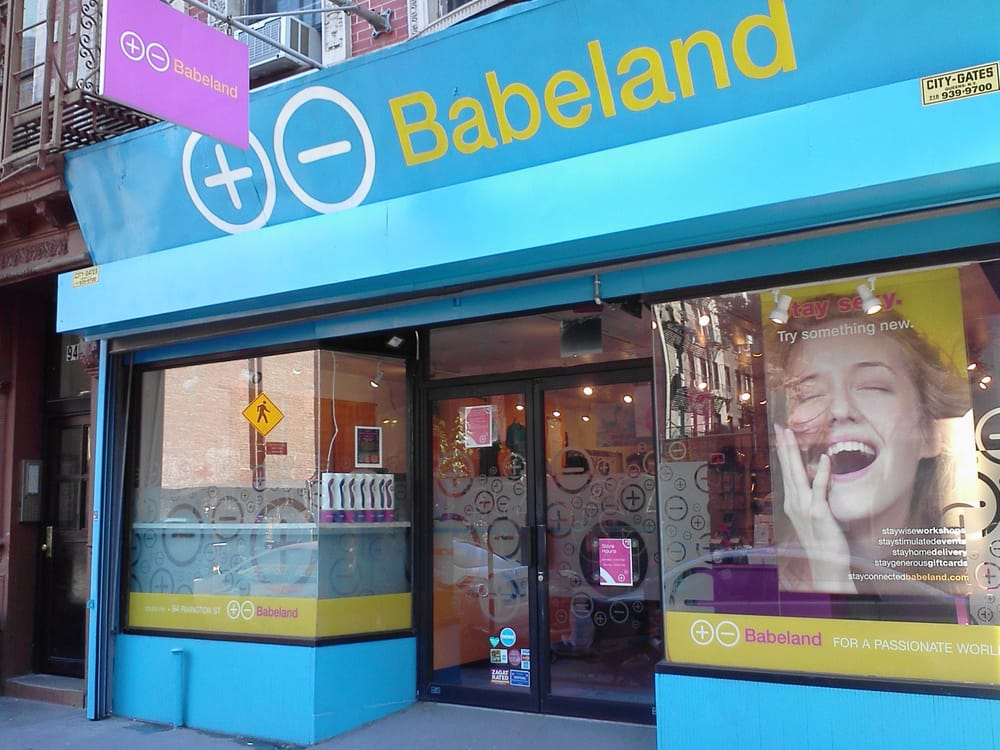 Photo of Babeland - New York, NY, United States. Babeland's LES store at