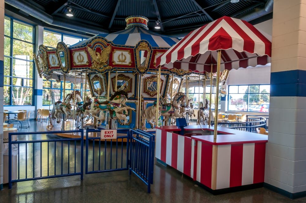 Carousel Room Is Adjacent To Jumps N Jiggles Yelp