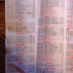 Photo Of Yopo Chinese Restaurant Pine Grove Pa United States Menu 1