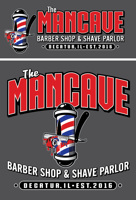 Mancave Barbershop and Shave Parlor: 2915 N Oakland Ave, Decatur, IL