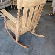 Photo Of Rivedi Modesto Ca United States Oak Rocker