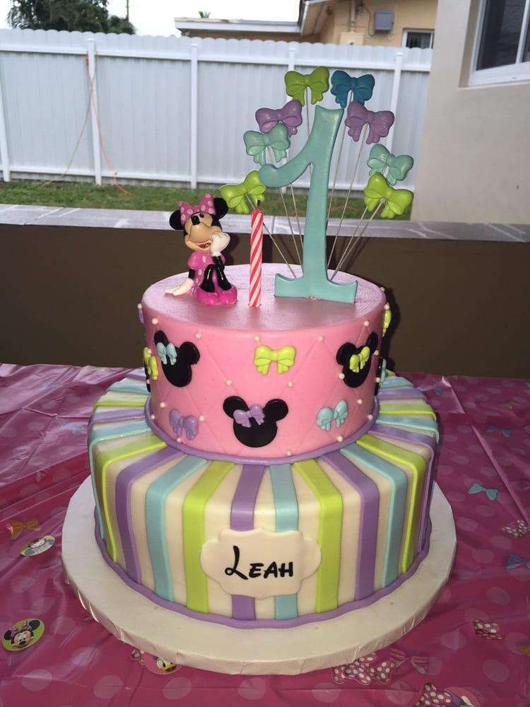 Leahs 1st Birthday Cake Yelp