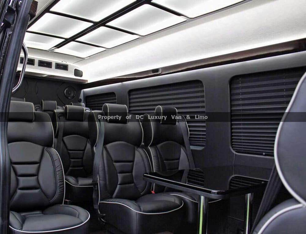 Inside The Mercedes Sprinter Luxury Van Ultra Yelp