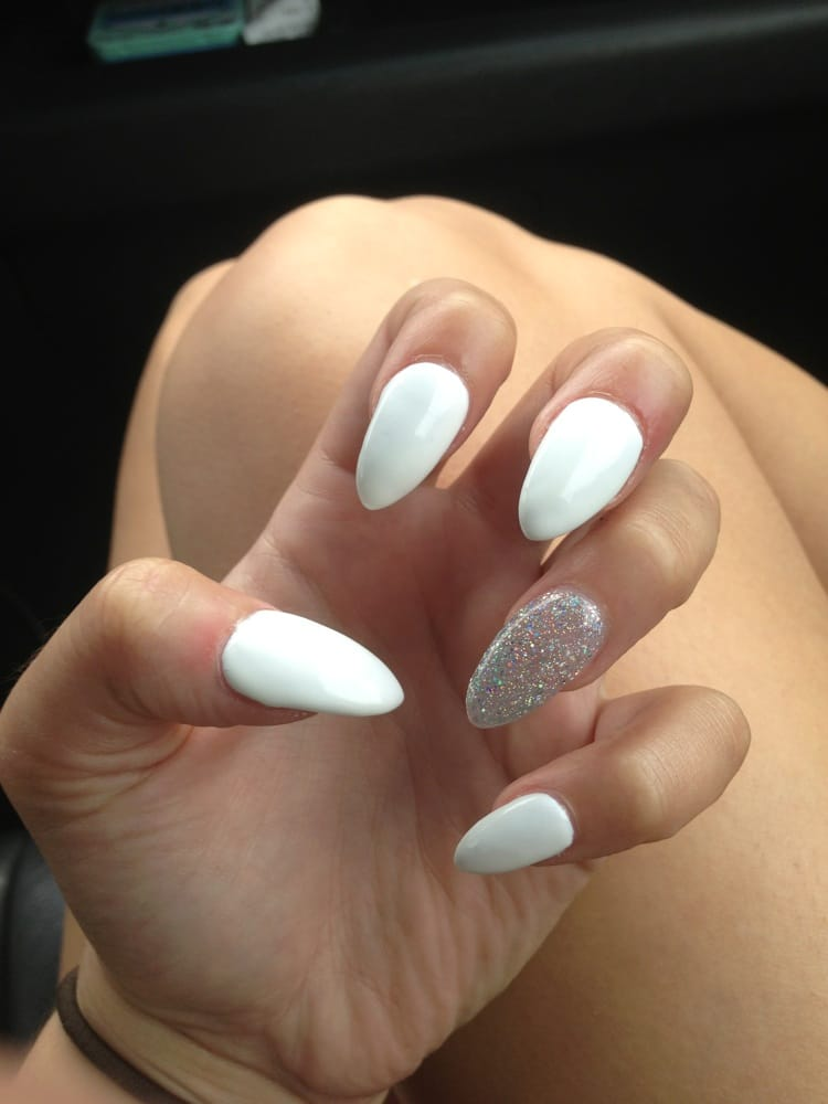 Went in for stiletto nails. Came out awesome and great price ...