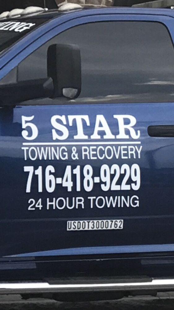 5 Star Towing & Recovery: 31 Lehigh St, Lackawanna, NY
