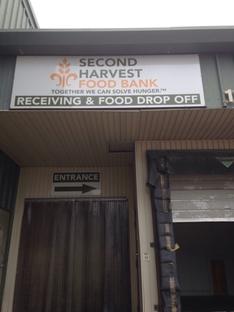 Second Harvest Food Bank Cost Of Service