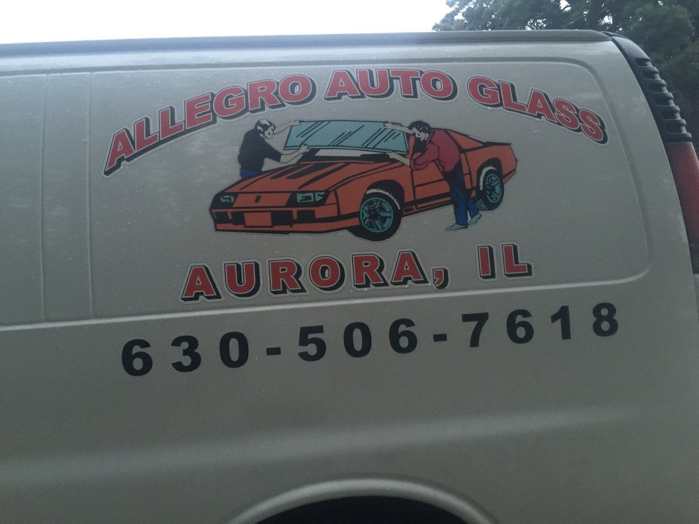 Allegro Auto Glass Replacement: 1222 Jackson St, Aurora, IL