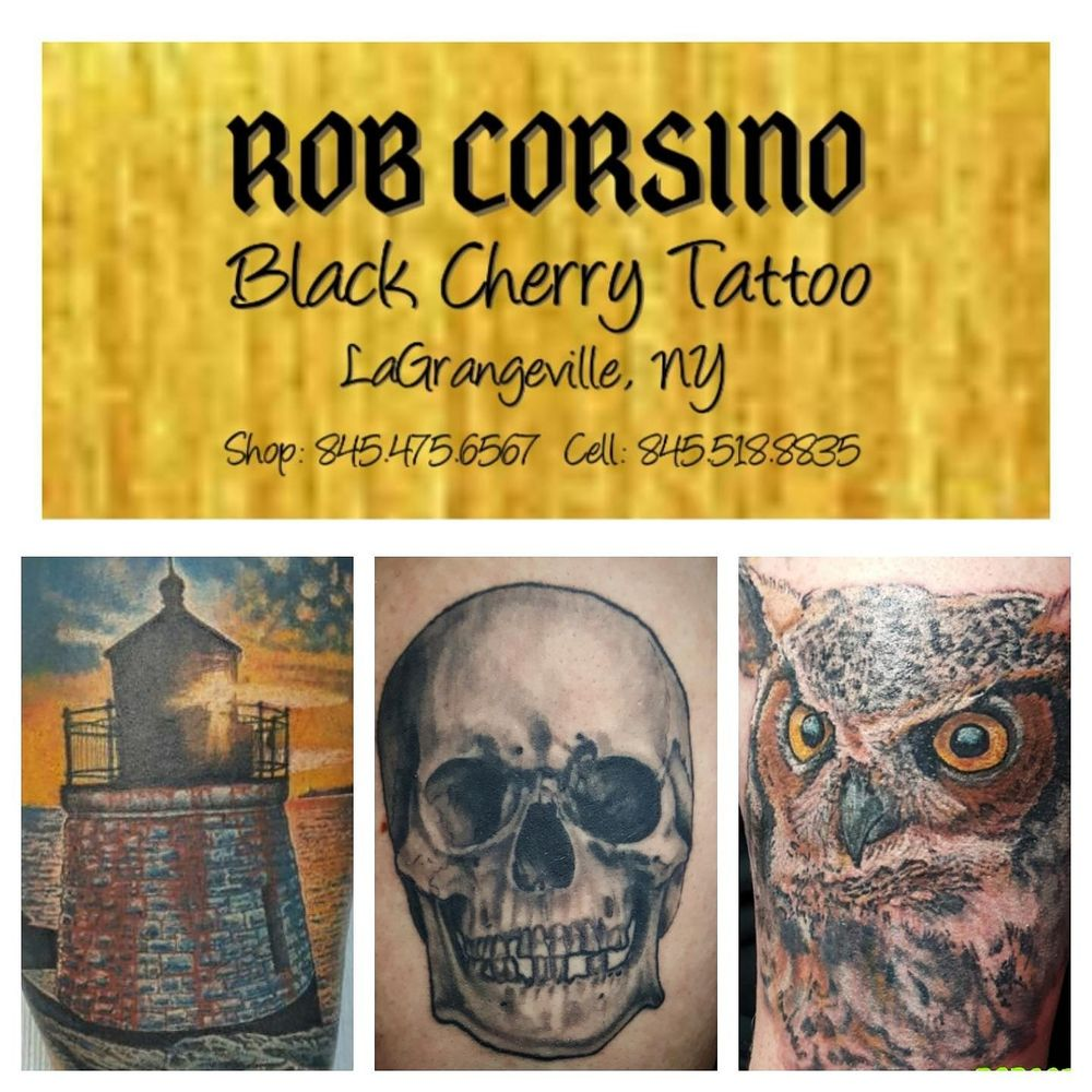 Black Cherry Tattoo Studio: Freedom Buisness Ctr, Lagrangeville, NY