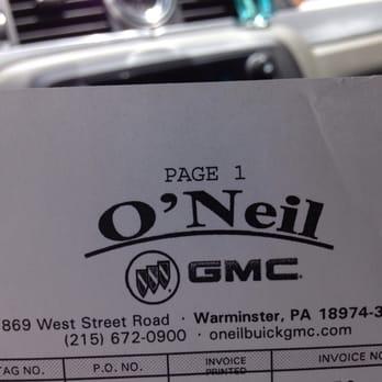 Photo Of O Neil Buick Gmc Warminster Pa United States