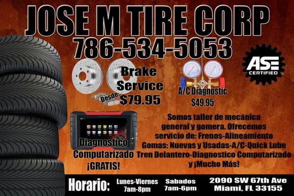 Jose M Tires
