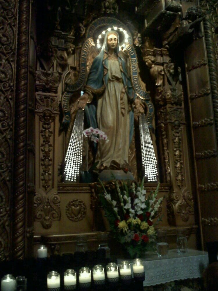 The Virgin Mary Amazing Sculpture Alcove Yelp