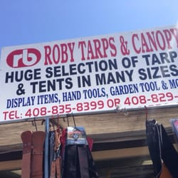 Photo of Roby Tarps u0026 Canopies - San Jose CA United States. Find & Roby Tarps u0026 Canopies - Party Supplies - 1590 Berryessa Rd North ...