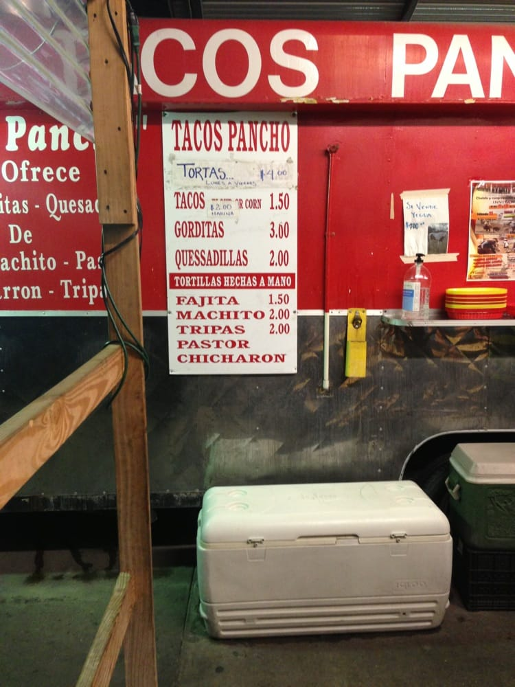 Tacos Pancho: 658 Aldine Mail Rt Rd, Houston, TX