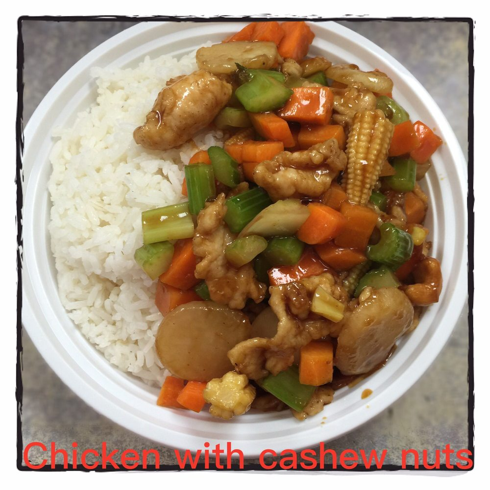 Chicken with cashew nuts - Yelp