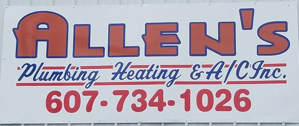 Allen's Plumbing & Heating: 306 E Mccanns Blvd, Elmira Heights, NY