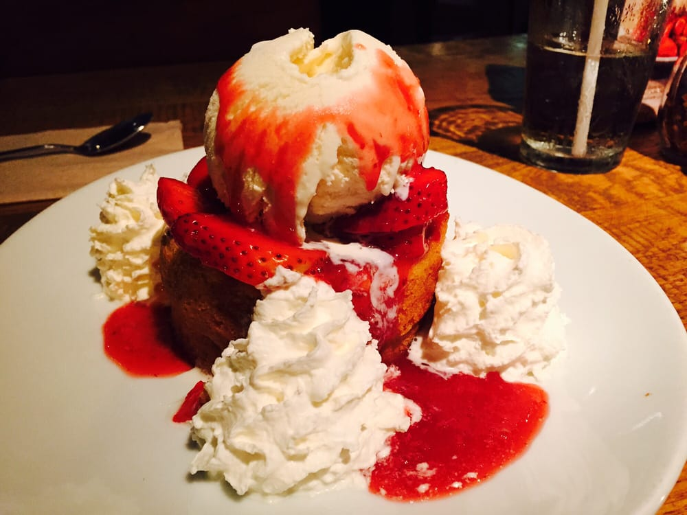 Butter Cake With Seasonal Strawberry Goodness Yelp