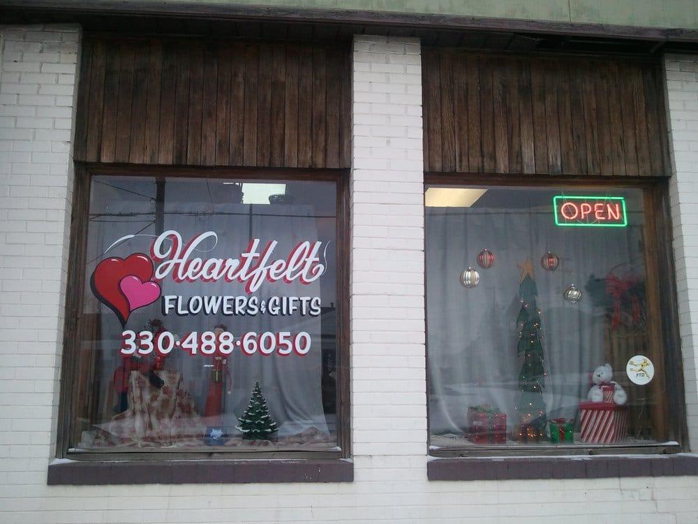 Heartfelt Flowers & Gifts: 101-B West Nassau St, East Canton, OH