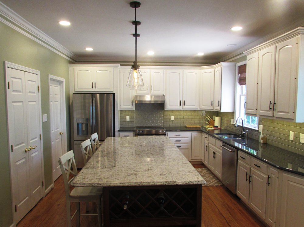 Kitchen Remodeling Project By Talon Construction Just Completed In