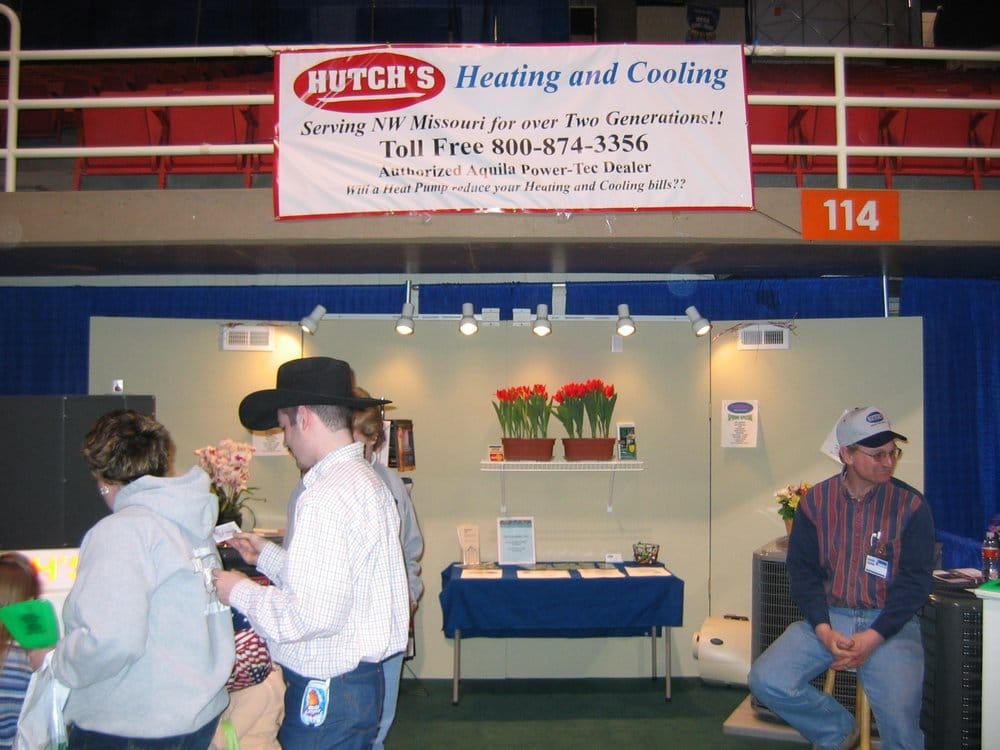 Hutch's Heating & Cooling: 163 N 2nd St, Union Star, MO