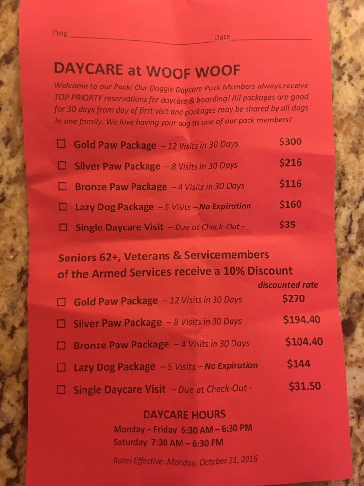 Woof Woof Professional Dog Services - 19 Reviews - Pet