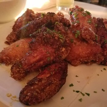 Photo of Dining Room   Brooklyn  NY  United States  Thai sauce chicken wings. Dining Room   43 Photos   53 Reviews   American  New    56