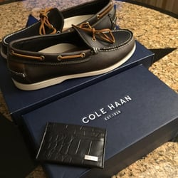 Photo of Cole Haan - Las Vegas, NV, United States. Shoes and card