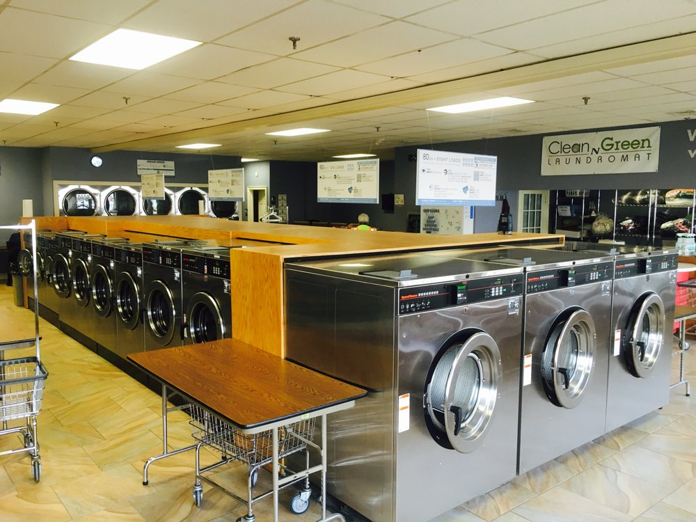 Clean N Green Laundromat: 3045 Main St, Glastonbury, CT