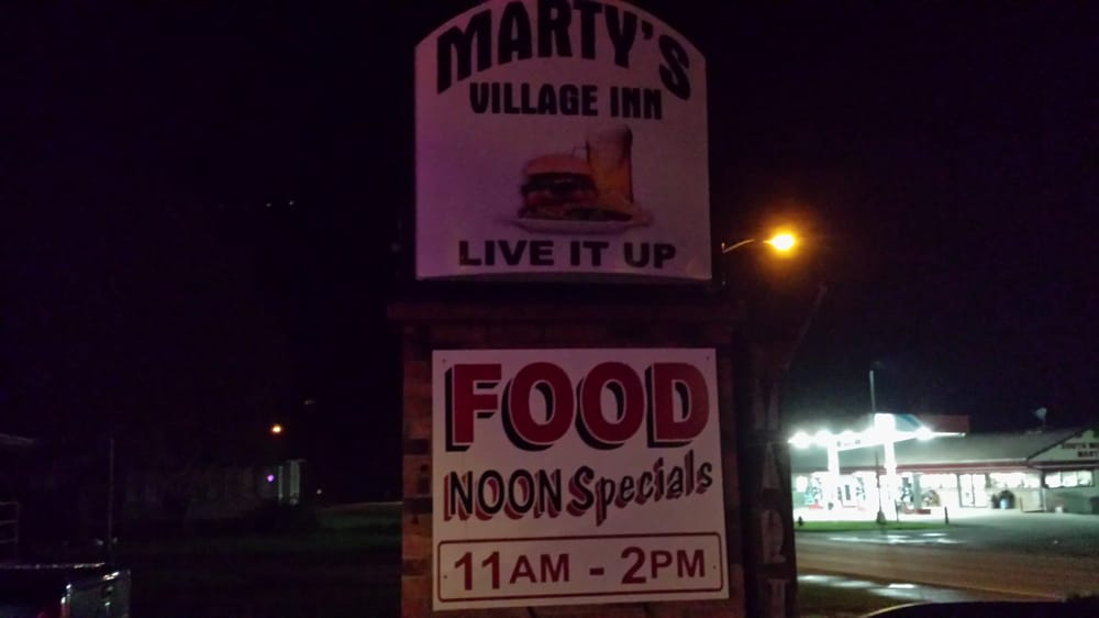 Marty's Village Inn: 207 W State Highway 11, South Wayne, WI