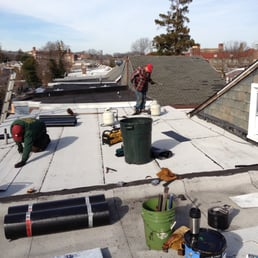 Awesome Photo Of Brooks Family Roofing   Wilmington, DE, United States. Flat Room  Job