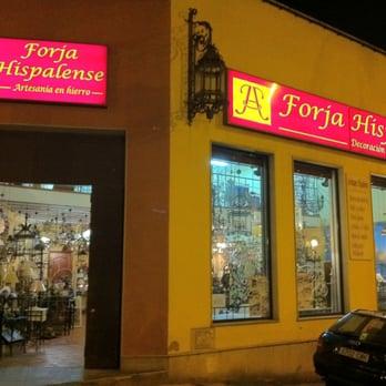 Forja hispalense tiendas de muebles calle de jos d az - Forja hispalense ...