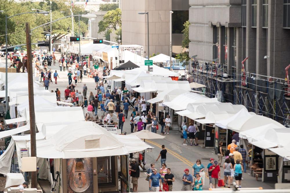 Bayou City Art Festival Downtown