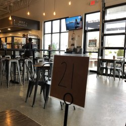 Photo Of Dv8 Kitchen Lexington Ky United States View The Seating