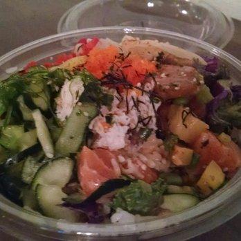 Make fish poke sushi burrito 1099 photos 769 reviews for Fish me poke menu