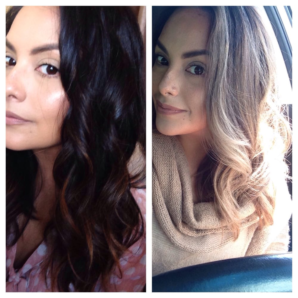 Mola Took My Hair From Dark To Light With Out Any Brassy Color Yelp