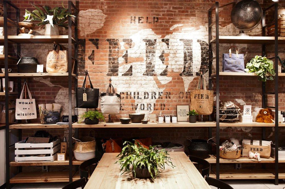 FEED Shop & Cafe: 55 Water St, Brooklyn, NY