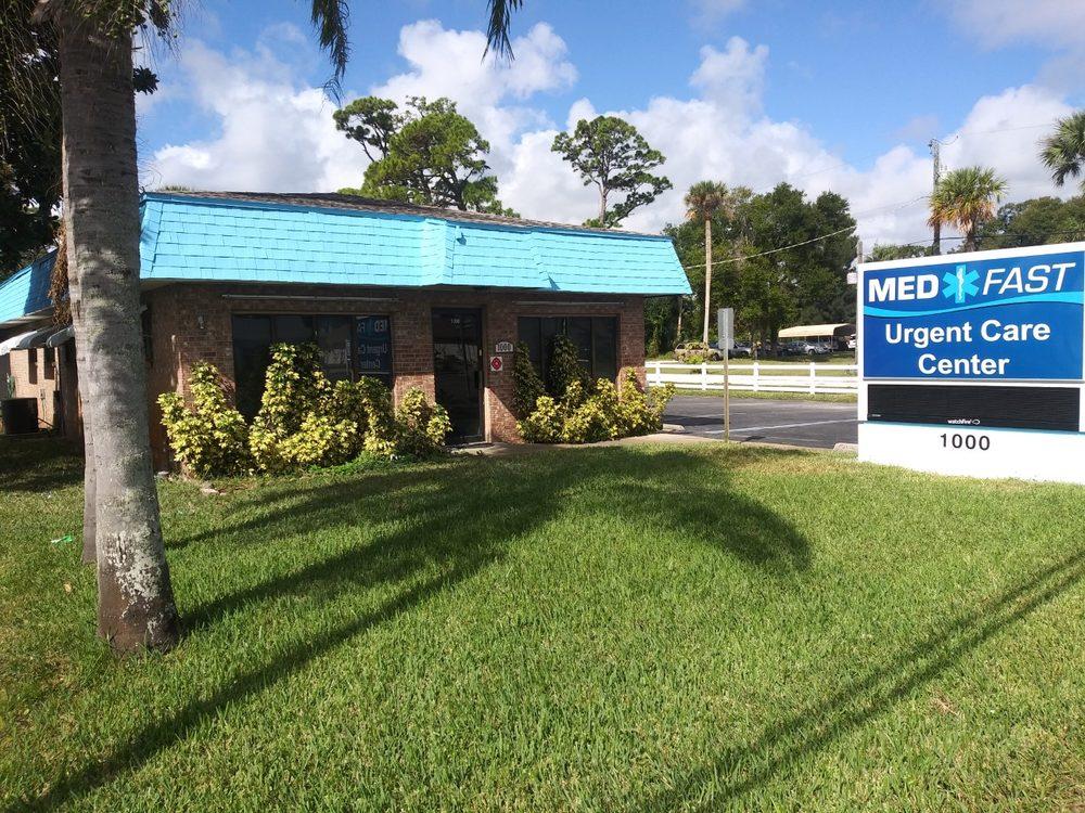 MedFast Urgent Care Centers: 1000 S Ridgewood Ave, Edgewater, FL
