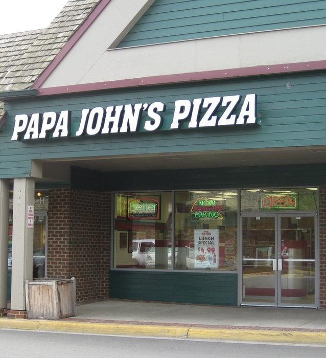 Papa John's Pizza - Pizza - 525 E Market St - Leesburg, VA ...