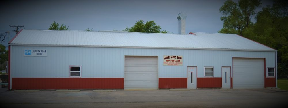 Jones Auto Body: 701 N Cedar St, Queen City, MO