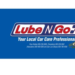 Lube N Go >> Lube N Go Smog Check Stations 2505 Theatre Dr Paso Robles Ca